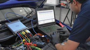 PicoScope 8-ch In Use